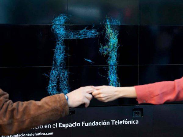 Bahia Tuna Producciones - pantalla interactiva Telefonica