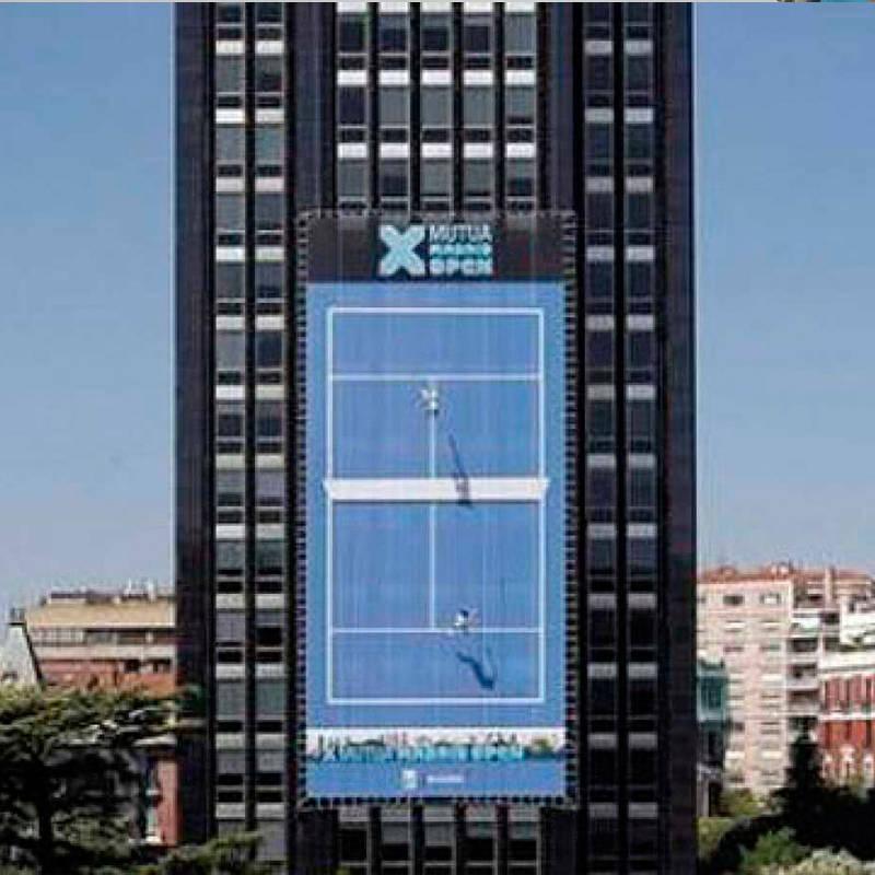 Tenis vertical Mutua Madrileña