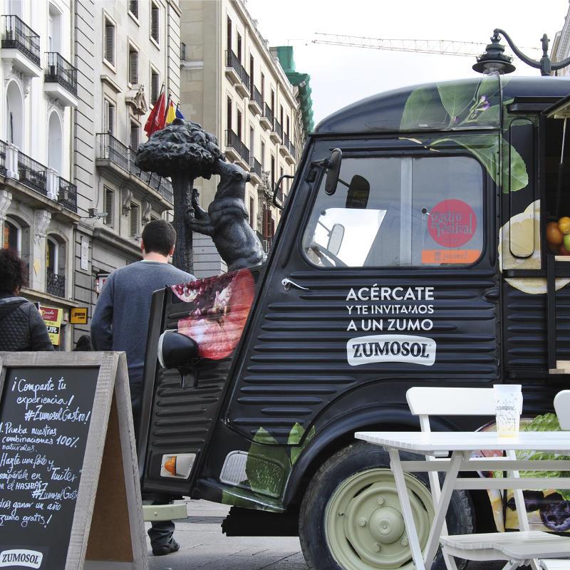 Bahia Tuna Producciones - camion comida Zumosol